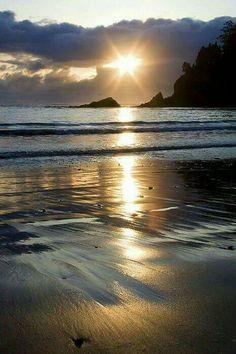 Sunset bay state park Oregon