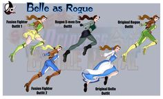 Belle as Rogue by Bryan-Lobdell