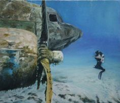 風景画「Diver」[星野 寛明]   ART-Meter