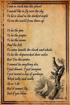 writer`s poem