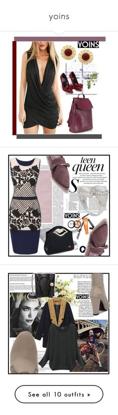 """""""yoins"""" by ajsajunuzovic ❤ liked on Polyvore featuring outfit, chic, fab, yoins, Borghese, Burton, MacKenzie-Childs, vintage, Sigma Beauty and Nearly Natural"""