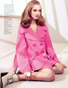 The August 2012 Vogue Japan Wixson Editorial is Girlish trendhunter.com