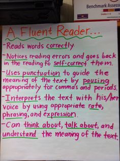 "Middle School Teacher to Literacy Coach: ""Some More Anchor Charts"" includes this one on fluency.  Remember, Readers Theater builds fluency FAST because there's a reason for repeated readings–performance!  :)  For free trustworthy Readers Theater scripts check out www.ReadersTheaterAllYear.com"