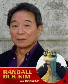 Randall Duk Kim do the voice of Oogway.