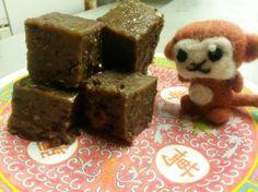 Red Bean steam Cake/ Red Bean Nian Gao