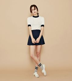 Korean Ulzzang Fashion; Byun Jung Ha