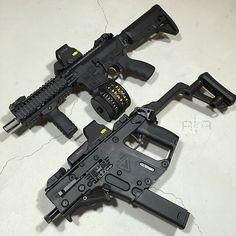 AR15 & Kriss Vector
