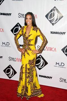 Melange Mode Sunshine Mermaid Dress ~African fashion, Ankara, kitenge, African women dresses, African prints, African men's fashion, Nigerian style, Ghanaian fashion ~DKK