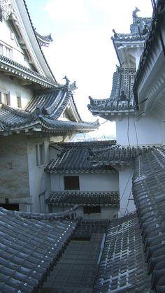 Japanese Architecture, Architecture Design, Himeji Castle, Amaterasu, City Buildings, Beautiful Homes, Scenery, Shuriken, Exterior