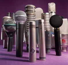 A Guide To Choosing & Using Studio Microphones