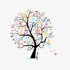 Illustration of Abstract musical tree for your design vector art, clipart and stock vectors. Musik Clipart, Zentangle, Music Doodle, Music Tree, Tree Clipart, Clipart Images, Quilt Modernen, Tree Images, Black Tree