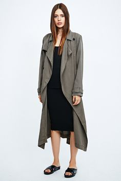 Silence + Noise - Trench drapé - Urban Outfitters