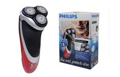 Philips Electric Norelco Shaver AT811/16 Red Wet & Dry Washable Popup Trimmer #Philips