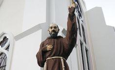 Saint Pio of Pietrecina | San Sebastian Cathedral of Tarlac, Philippines | photo by Ramon FVelasquez