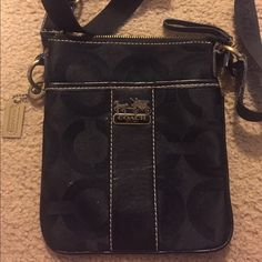 Small Coach Bag Small Coach Bag...I do not know the authenticity it was a gift. Good condition Bags Crossbody Bags
