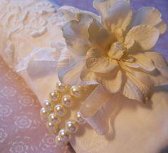 Flower Corsage Bracelet Bridesmaids Corsage by PearlyJaneBridal, $26.00