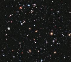 Astronomers used to think the universe contains 100-200 billion galaxies. Now, the population estimate has jumped up to 2 trillion. (NASA, ESA, G. Illingworth, D. Magee, and P. Oesch (University of California, Santa Cruz), R. Bouwens (Leiden University), and the HUDF09 Team)
