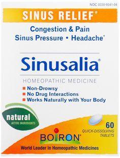 Amazon.com: Sinusalia Sinus Pain - 60 Tablets: Health & Personal Care