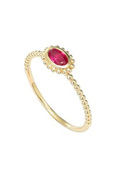 Main Image - LAGOS 'Covet' Oval Stone Caviar Stack Ring