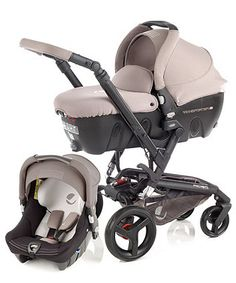 Jané Rider, Strata & Transporter Pram and Pushchair Travel System - Cream - prams & pushchairs - Mothercare