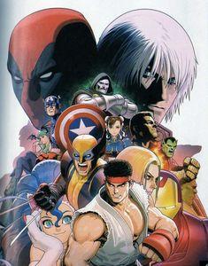 Marvel VS. Capcom 3 FoTW: Special Edition, by Shinkiro.