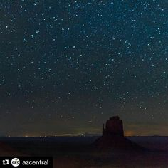 On instagram by silverplatterinfo #astrophotography #unas (o) http://ift.tt/1N28c7L @azcentral with @repostapp  Congrats to @sometrail! His photo of a starry #MonumentValley was the #AZ365 photo with the most likes on our Facebook page for the week of Jan. 3. ------------------------------------------ So if youve been wondering whether AZ365 will continue for another year the answer is YES! Lets make 2016 another fabulous year for Arizona photography. Tag #AZ365 to join in and get a shot at…