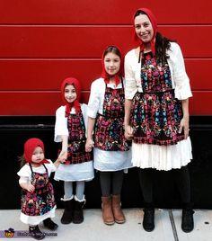 Russian Nesting Dolls Costume - Halloween Costume Contest via @costume_works