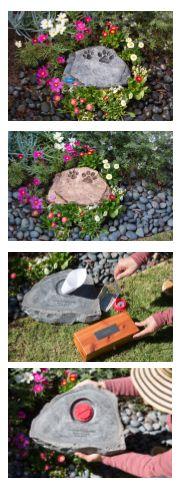 Pet Garden Stepping Stone Urn, Dog Urn, Cat Urn, Pet, Dog, Cat, Pets, Ashes, Memorial, *Cremation* #gpucares www.gardenPeturns.com