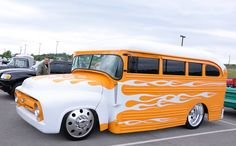 My short bus has arrived. Ford Trucks, Pickup Trucks, Diesel Trucks, Ford Expedition, Ford Classic Cars, Classic Trucks, Rat Rods, Automobile, Bus Camper