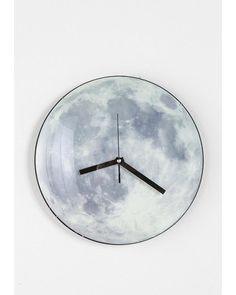 moon clock for astronomy themed nursery