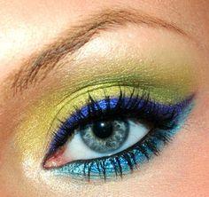 Green, Violet, Blue https://www.makeupbee.com/look_Green-Violet-Blue_48929