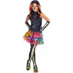 Skelita Calaveras Monster High kostuum