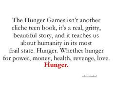 about the Hunger Games