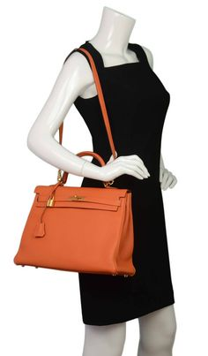 Hermes 35cm Togo Graphite Birkin Bag by Hermes on Gilt.com ...