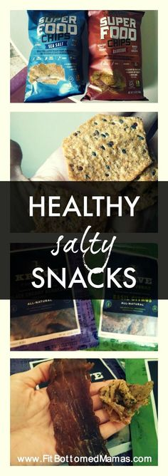 Got a salty tooth? We've got some healthy snacks that will take care of that!