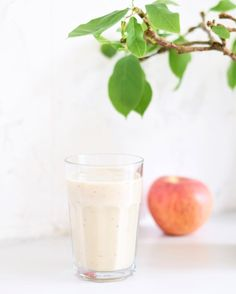 Healthy smoothie Apple banana