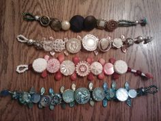 Button bracelets!!