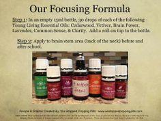 Essential oils to help kids focus
