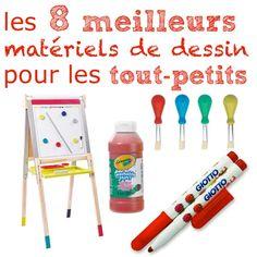 Les 8 meilleurs matériels pour dessiner pour les enfants de moins de 5 ans