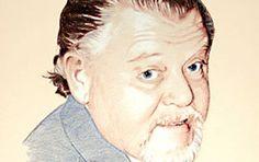 Portrait Farbstiftzeichnung