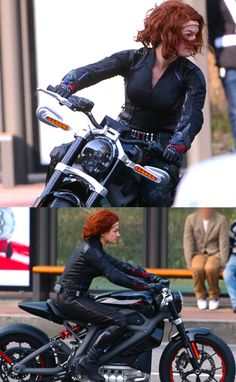 Black Widow Age of Ultron stunt double. Costume reference.