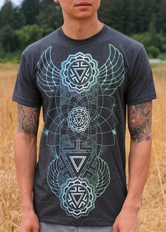 MANIPURA CHAKRA Men's T-shirt - Color Fade Edition - Sacred Geometry Clothing by Rythmatix on Etsy https://www.etsy.com/listing/238612723/manipura-chakra-mens-t-shirt-color-fade