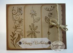 Sketched Floral Borders for Sweet Stamps LLC, December 2015, by Leah Tees, odetopaper.blogspot.ca