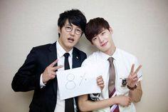 Yoon Sang Hyun and Lee Jong Suk --- I Hear Your Voice (SBS, 2013).