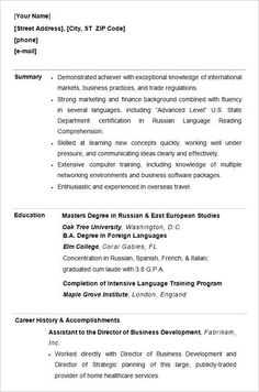 Resume Templates For Students Amazing Customer Service  Resume Examples No Experience  Pinterest .