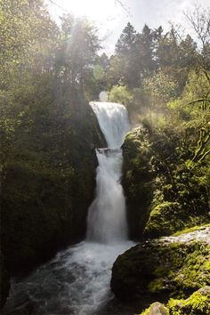 "czechthecount: "" Bridal Veil Falls by czechthecount: instagram 