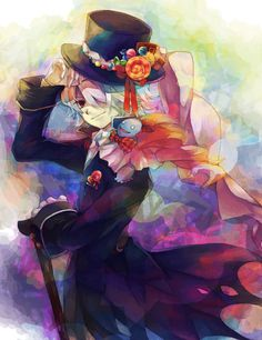 Pandora Hearts | Xerxes Break, he remind me about Undertaker (Black Butler). Shrouded in mystery of them make me feel interesting.