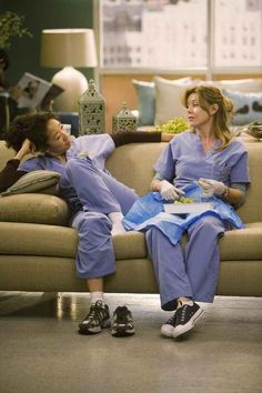 "Even if it means you have to sit with them while they work. | What It Is Like To Have Met ""Your Person,"" As Told By ""Grey's Anatomy"""