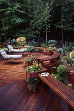 Backyard Deck #DriscollsSweepstakes