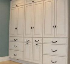 stock kitchen cabinets > bedroom built in (Diy Closet Built Ins) Bedroom Built Ins, Closet Built Ins, Closet Bedroom, Diy Bedroom, Master Closet, Bedroom Wall, Attic Closet, Bedroom Girls, Bathroom Closet